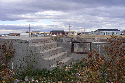 Blackfeet Brownfields Program, Blackfeet Nation, Browning, Montana.